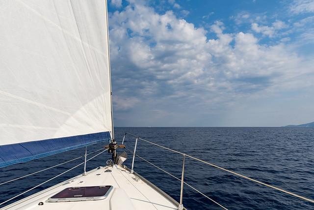 Sailing the Greek Ionian Sea