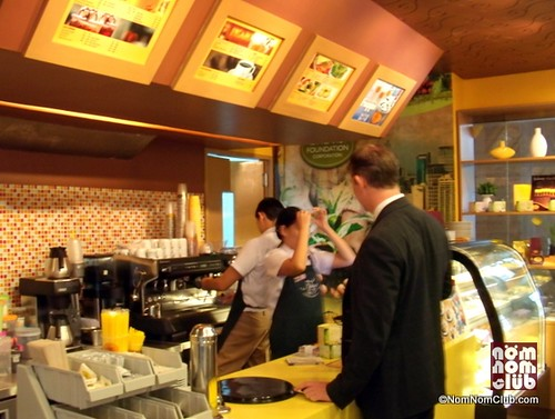 Figaro Coffee Shop Counter