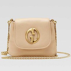 Gucci 1973 Small Shoulder Bags 251821 - Sand