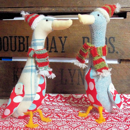 Little Christmas Geese