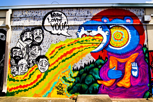 Briks at the Mullet | The Mural Project | Houston Graffiti 2012