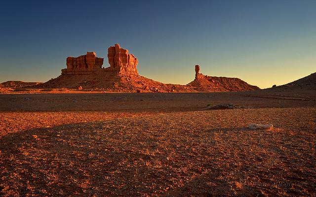 Desert Sunset Iconography