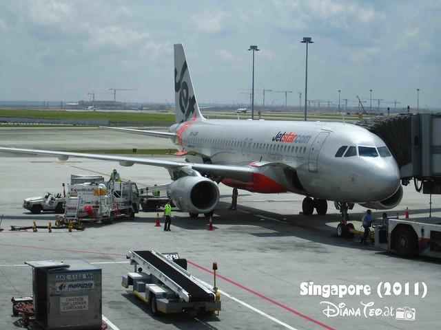 Day 1 Singapore - Jetstar Airline