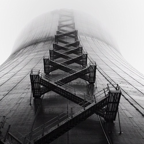 Cooling Tower #nuclearrain by amy heiden