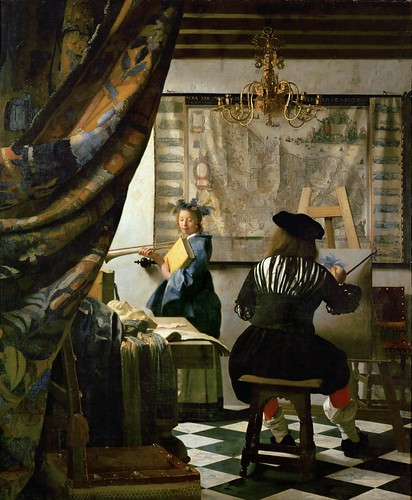 Jan Vermeer - The Art of Painting [1666-68]