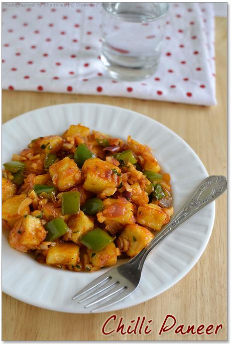 Chilli paneer recipe chilli paneer dry recipe how to make chilli chilli paneer recipe forumfinder Images