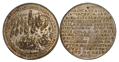 1629 Matanzas Relic Silver Relic Medal