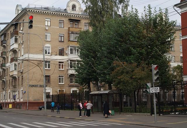 Novopeschanaya str., 13. (2012)