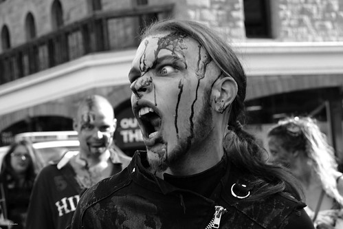 Zombie Walk 2012 - rage issues by Wanderfull1
