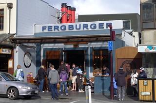 Fergburger @ Queenstown