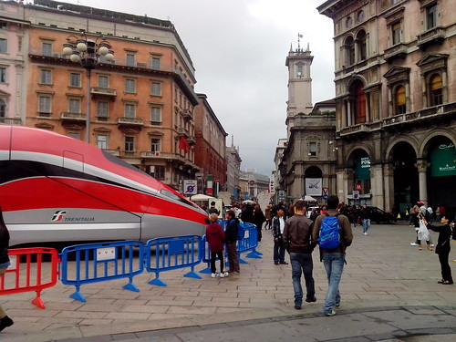 Freccia Rossa in Duomo by Ylbert Durishti