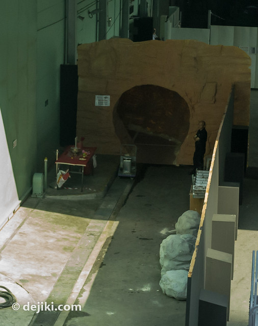 the actual entrance to the dungeon