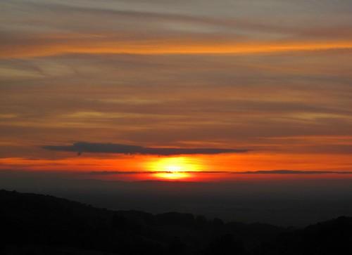 autumn sunset sky clouds october sonnenuntergang band himmel wolken sonne bergstrasse abigfave bphotor