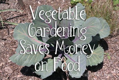 Vegetable Gardening Saves Money on Food