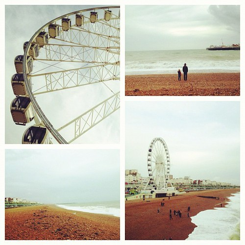 1st time to #England's S coast. #BrightonPier