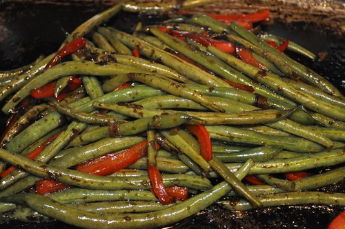green beans with crispy sage 19