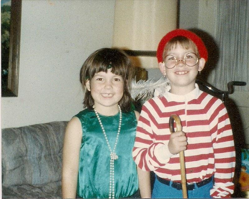 1991 flapper and waldo costume
