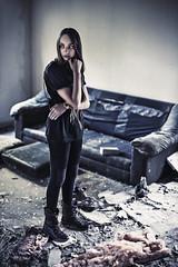 [フリー画像素材] 人物, 女性, 頬杖 ID:201210230800