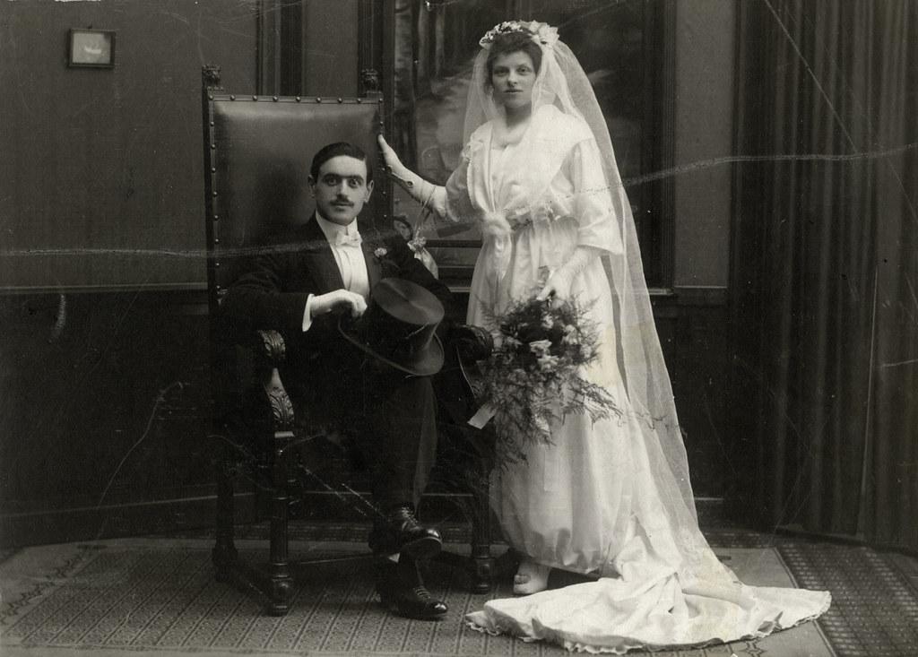 008---Wedding portrait of Marcus (Max) Kok and Julie Kok Vleeshouwer
