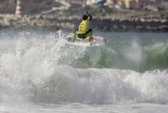Gabriel Medina looked like the surfer to beat all event long - until the last wave of the final.