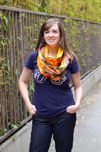 figure 8 scarf