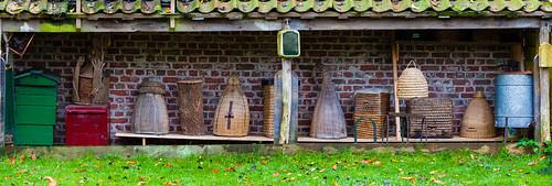 Bienenstöcke; copyright 2012: Georg Berg