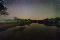 [フリー画像素材] 自然風景, 河川・湖, 空, 夜空, 星, 風景 - ブラジル ID:201210252000