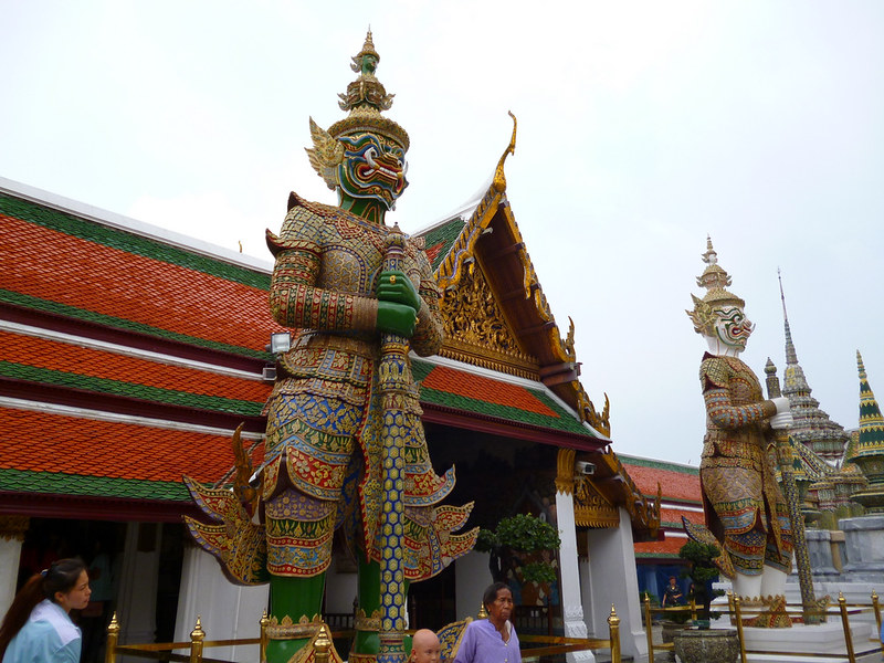 Guardian at Bangkok's Grand Palace