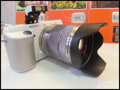 Interchangeable Lens Camera Promotion by SenQ - Sony NEX-F3K - Built-In Flash