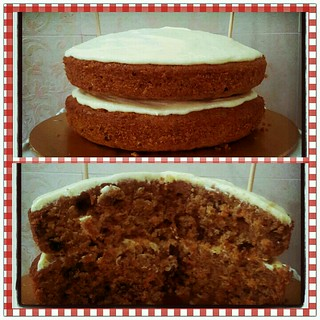 carrot & dates cake
