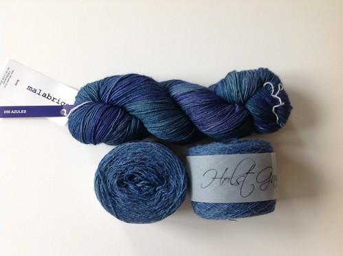Malabrogo sock et Holst Garn