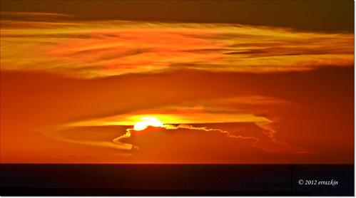 sunset red sea sky mar rojo taiwan amarillo cielo taipei yelow ocaso tansui ironde damtsui