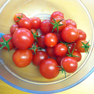 Tomates du balcon
