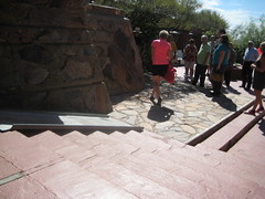 Ramp over steps at Taliesin West