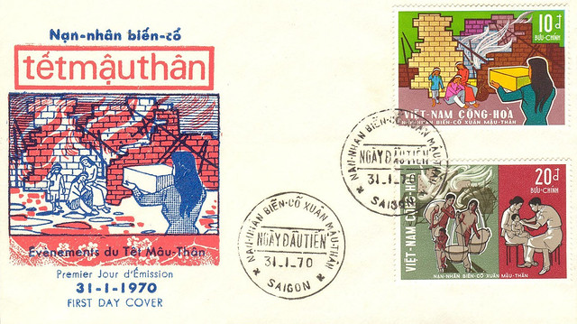 Vietnam FDC 1970 Tetmauthan - Victims of Tet Offensive