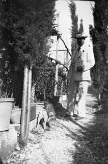 Axel Munthe vid Villa San Michele, Capri
