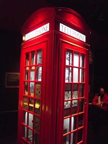 Museum of London - Modern London: People's City - K2 telephone kiosk, 1926