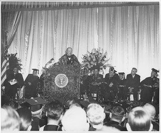 "Winston Churchill ""Iron Curtain"" speech at Westminster College (MSA)"