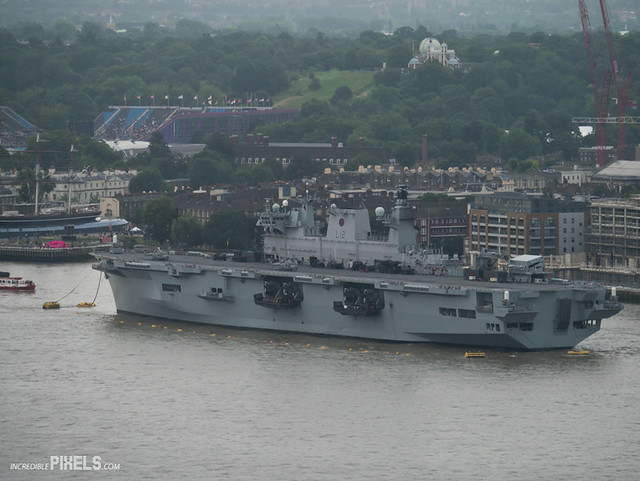 The HMS Ocean - Britains Biggest Warship for the Olympic ...