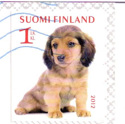 Finland Dog Stamp