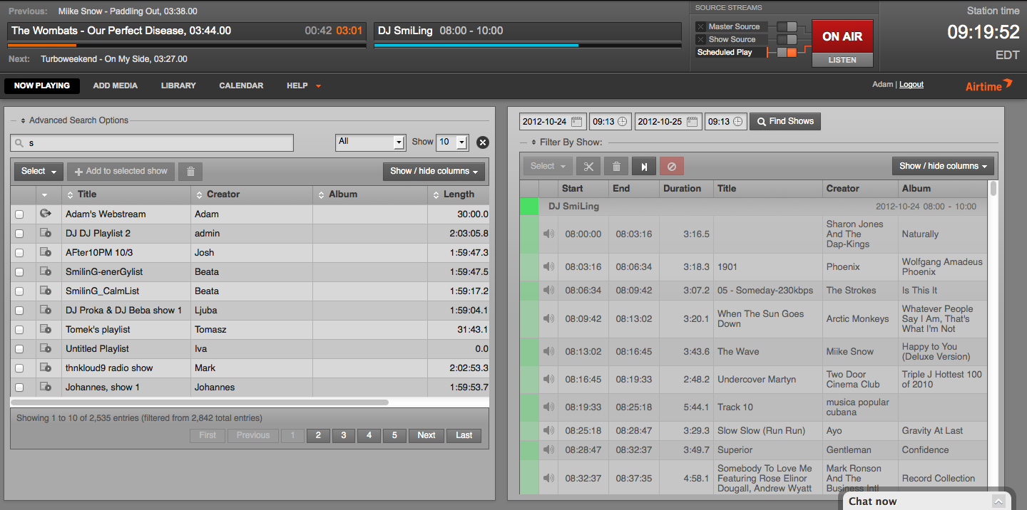 Intuitive DJ workflows get you on air in minutes
