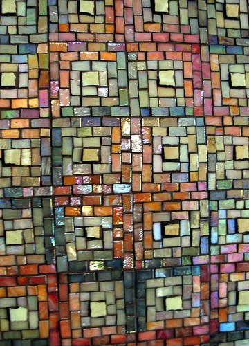 Log Cabin Panel Mosaic by Margaret Almon