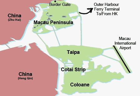 Peta Macau