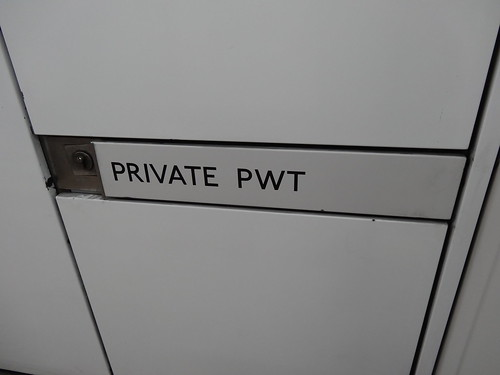 Mysterious Private PWT door at Embankment station