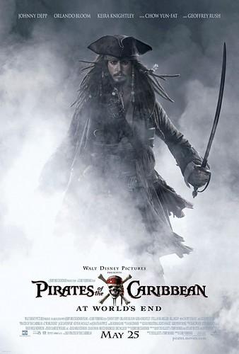加勒比海盗3:世界的尽头 Pirates of the Caribbean: At World's End(2007)