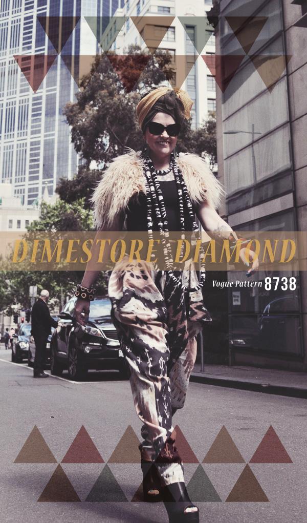 Kazzthespazz.com | Dimestore Diamond Pants