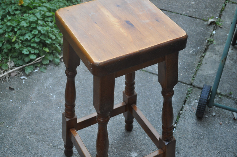 old stool revamp 2