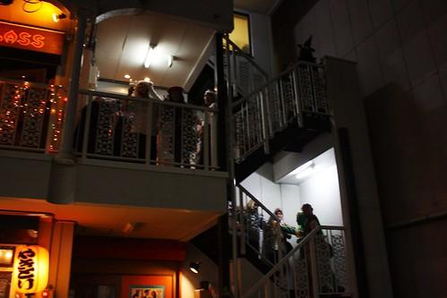 それどころか階段まで!