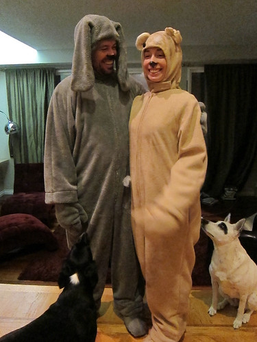 Leo and Marnie as Wilfred and Bear_01