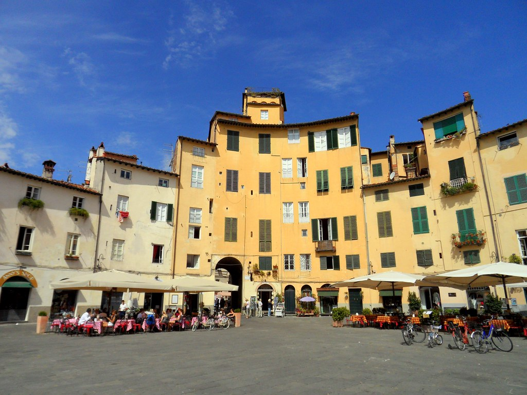 Lucca, in Toscane, Italy